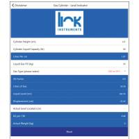 Free app from Link Instruments boosts productivity by calculating fire extinguisher fill levels
